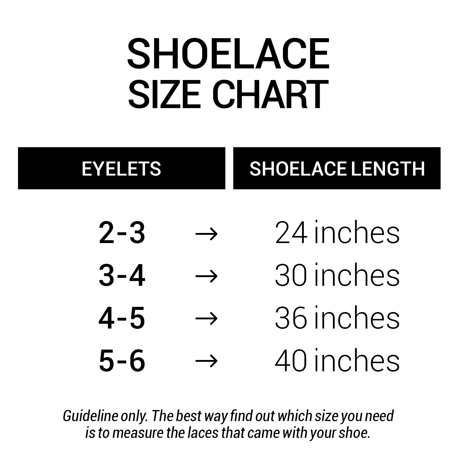 72162a1063f1 Shoe Lace Chart Related Keywords   Suggestions - Shoe Lace Chart ...